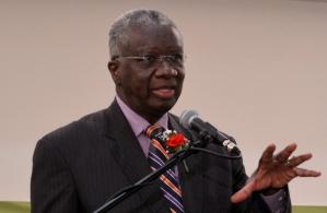 The Rt. Hon. Freundel Stuart, Q.C., M.P. Prime Minister Of Barbados