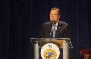 UN Secreetary General Ban Ki Moon