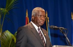Rt. Hon. Freundel Stuart, Prime Mini ster  of Barbados