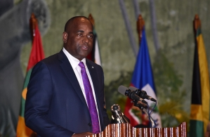 Chairman Of Caricom Hon. Roosevelt Skerrit, Prime Minister Of The Commonwealth Of Dominica