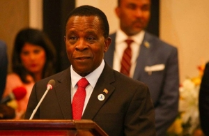 Dr. Keith Mitchell, PM of Grenada