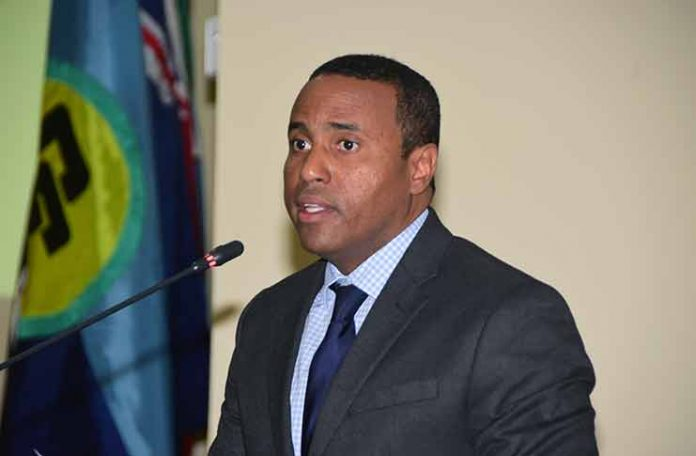 Dr. Justin Ram, Director of Economics, CDB, at Stakeholder Consultation on CSME