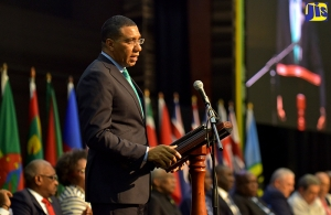 Chair of the Conference of Heads of Government Most Hon. Andrew Holness