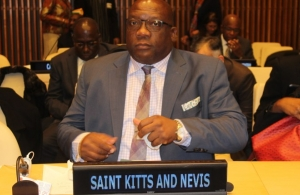 CARICOM Chairman, Prime Minister Dr Timothy Harris of St. Kitts and Nevis