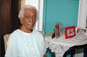 CARICOM Triennial Awardee, Ms. Magda Pollarad (Photo via Stabroek News)