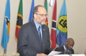 H.E. Irwin Larocque, Secretary-General of the Caribbean Community