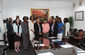 Participants of the PANCAP Learning Exchange to The Bahamas