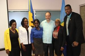 Flashback: Secretary-General with CARICOM Youth Ambassadors Committee